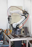Robotic Welding Arm Royalty Free Stock Photography