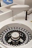 Robotical machine for centrifuge blood Stock Photo