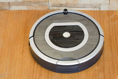 Robotics - the automated robot the vacuum cleaner. Stock Image