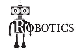 Robotics Word Text conceptual Illustration. Stock Photos