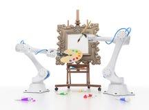 Robotique créative Illustration Stock