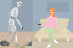 Robotization Royalty Free Stock Photo