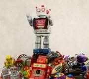 Robotleksaker royaltyfri bild