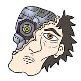 Robotman Arkivfoto