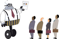 Robotmanager Royalty-vrije Stock Afbeelding