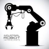 Robotontwerp stock illustratie