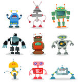 Robots royalty free illustration