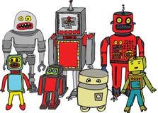 Robots Royalty Free Stock Photo