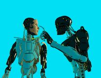 The robots Royalty Free Stock Image
