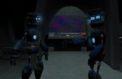 Robots Images libres de droits