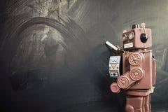 Robots chalk Royalty Free Stock Photos