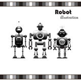 Robots Collection Royalty Free Stock Images