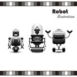 Robots Collection Stock Photo