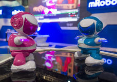 Robots de CES 2014 Imagen de archivo