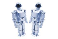 Robots de jouet Photos stock