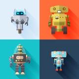 Robots del juguete fotografía de archivo libre de regalías