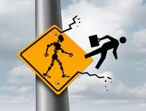 Robots die Banen nemen vector illustratie