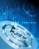 Robots en elektronikaconcept Royalty-vrije Stock Afbeeldingen