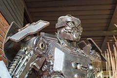 Robots faits à partir de la chute images libres de droits