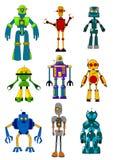Robots mécaniques illustration libre de droits