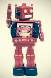 Robots say Hi Stock Photos