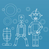 Robots Stock Photos