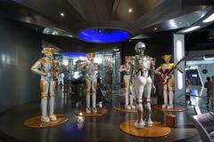 Robotsband in de wetenschap en de Technologiemuseum van Sichuan Royalty-vrije Stock Foto's