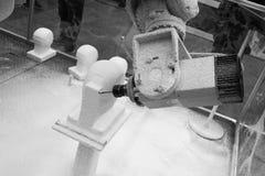 Robotskulptur Arkivfoton