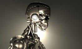 Robotsoldat Arkivfoto