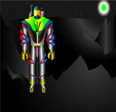 robotspaceman Royaltyfria Foton