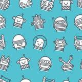 Robotspatroon royalty-vrije illustratie