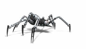 Robotspindel Arkivbild