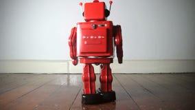 Robotstuk speelgoed stock video