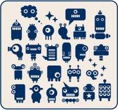 Robotuppsättning. Arkivbild