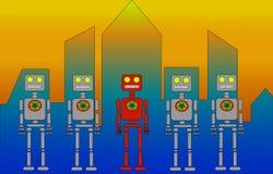 Roboty Zdjęcia Stock