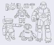 Roboty Zdjęcie Stock