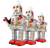 roboty Fotografia Stock
