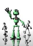 roboty ilustracja wektor