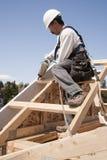 roboty budowlane pracownik Zdjęcie Stock