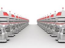 Roboty, 3D Zdjęcia Stock