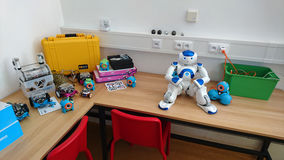 Roboty dla dzieci Zdjęcie Royalty Free