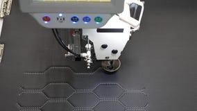 Robotyka pracy w krawiectwo linii produkcyjnej Robot szwalna maszyna Automatyczna szwalna maszyna Komputerowe kontrole zbiory