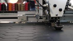 Robotyka pracy w krawiectwo linii produkcyjnej Robot szwalna maszyna Komputerowe kontrole szwalna maszyna automatycznie zbiory