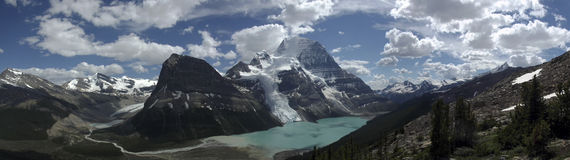 Robson Massif Royalty Free Stock Images