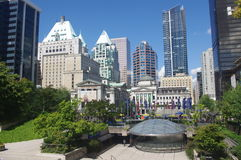 Robson Square royalty free stock photography