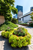 Robson Square in Vancouver van de binnenstad Royalty-vrije Stock Foto