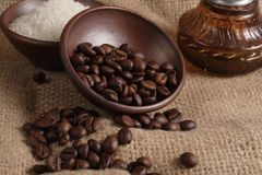 Robusta Coffee Beans Stock Photos