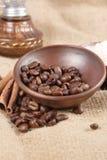 Robusta Coffee Beans Royalty Free Stock Photo