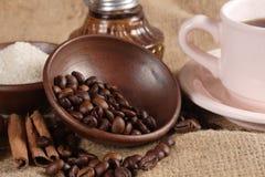 Robusta Coffee Beans Royalty Free Stock Photos