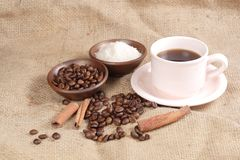 Robusta Coffee Beans Royalty Free Stock Images